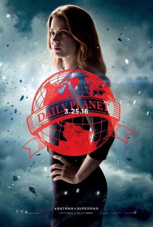 Cartel Lois Lane de 'Batman v Superman: El origen de la justicia'