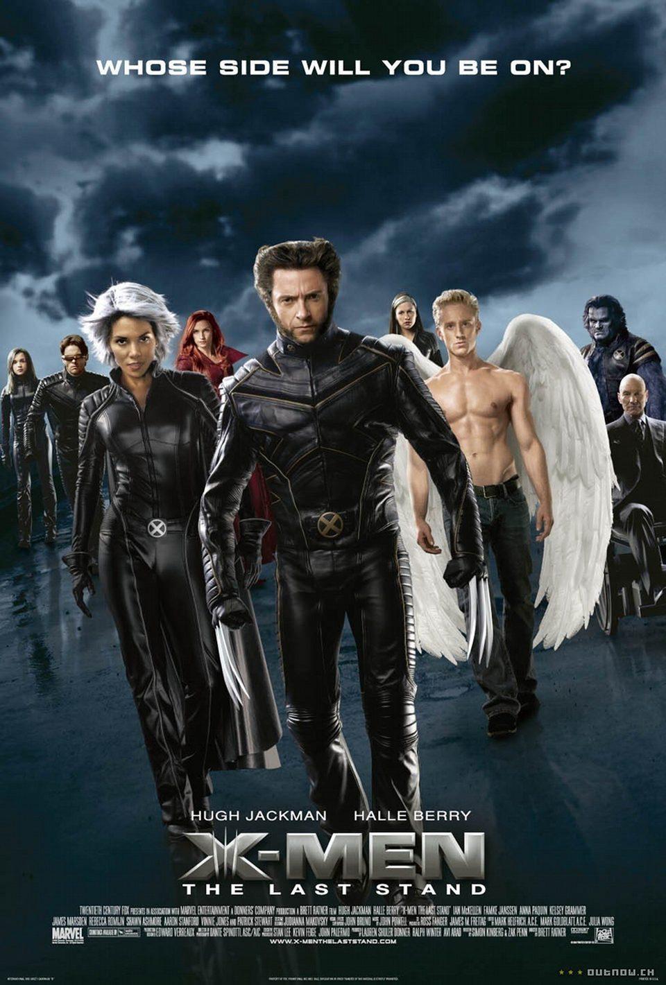 Cartel Estados Unidos de 'X-Men 3: La batalla final'