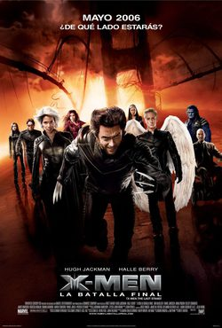 Cartel de X-Men 3: La batalla final