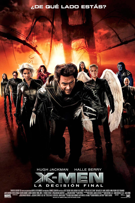 Cartel España de 'X-Men 3: La batalla final'
