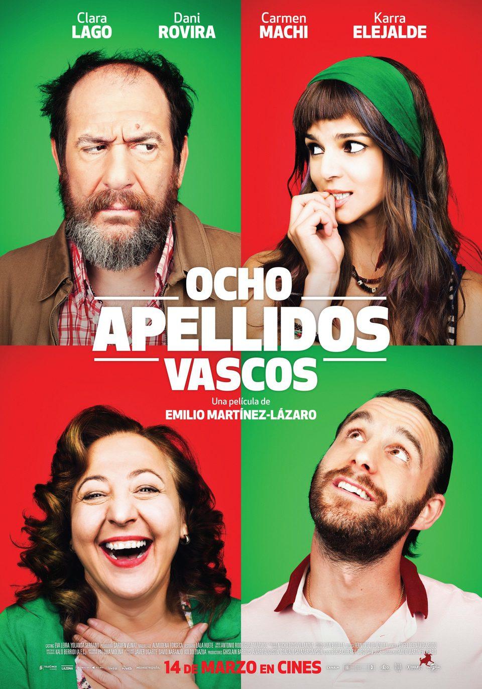 Cartel España de 'Ocho apellidos vascos'