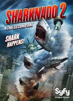 Cartel de Sharknado 2: The Second One