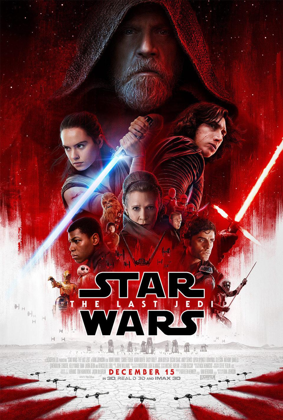 Cartel  de 'Star Wars: Los últimos Jedi'
