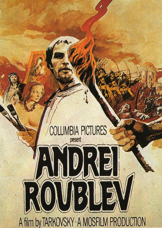 Cartel Estados Unidos de 'Andrei Rublev'