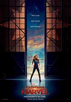 Cartel de Captain Marvel