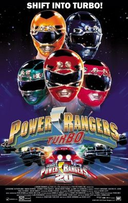 Cartel de Turbo Power Rangers