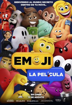 Cartel de The Emoji Movie