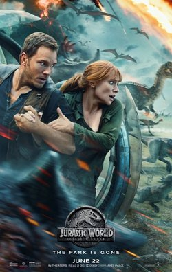 Cartel de Jurassic World: Fallen Kingdom