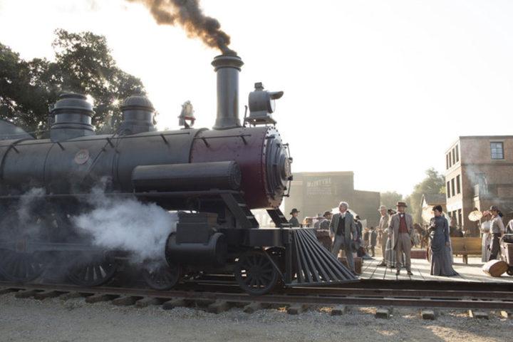 El tren llega en 'Westworld'