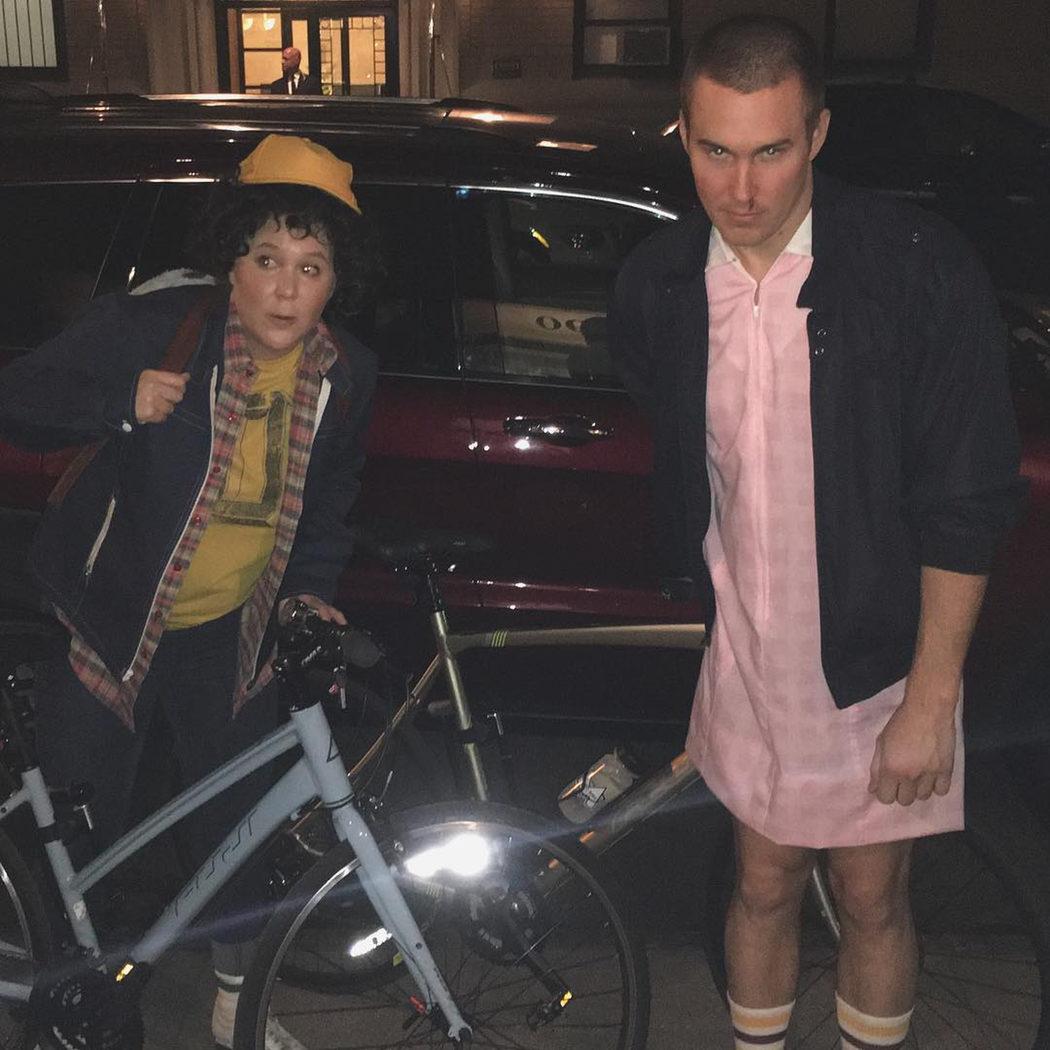 Amy Schumer de Dustin de 'Stranger Things'