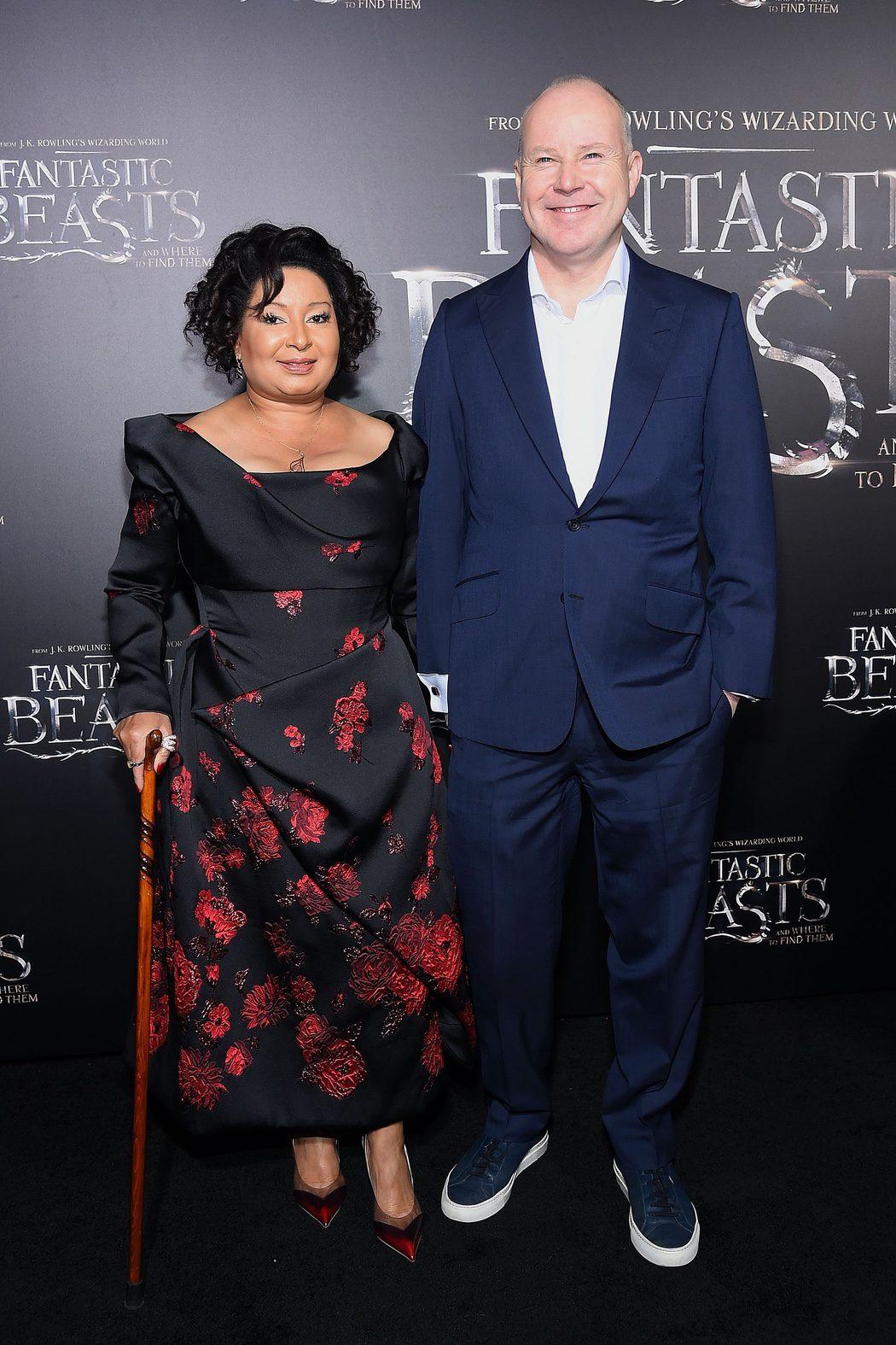 David Yates y su mujer en la premiere de 'Animales fantásticos y dónde encontrarlos'