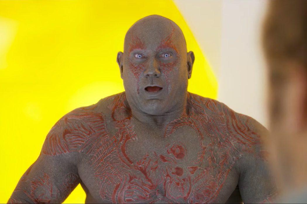 El sentido del humor de Drax