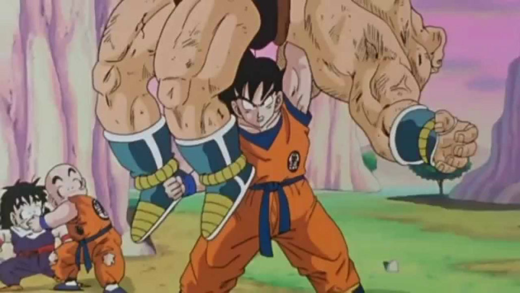 Goku vs. Nappa