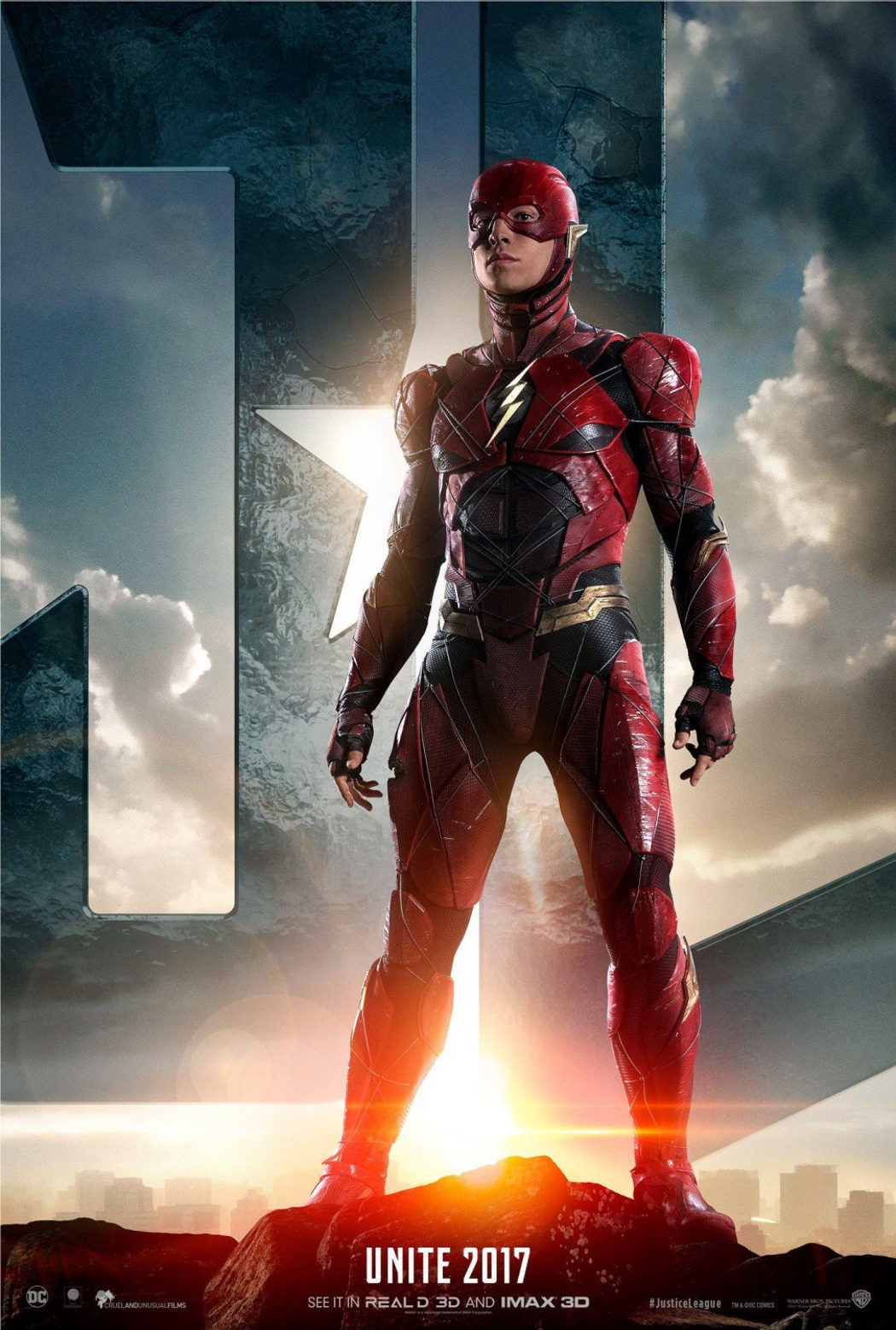 Ezra Miller es Flash