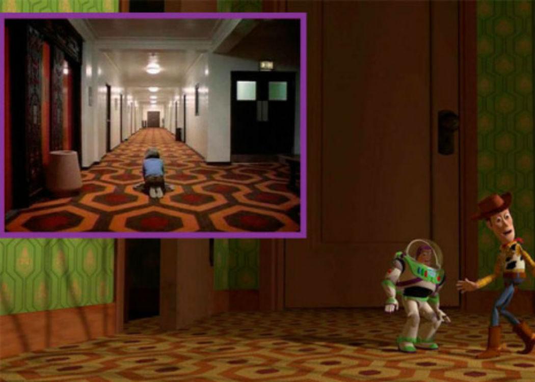 La casa de Sid al más puro estilo Kubrick
