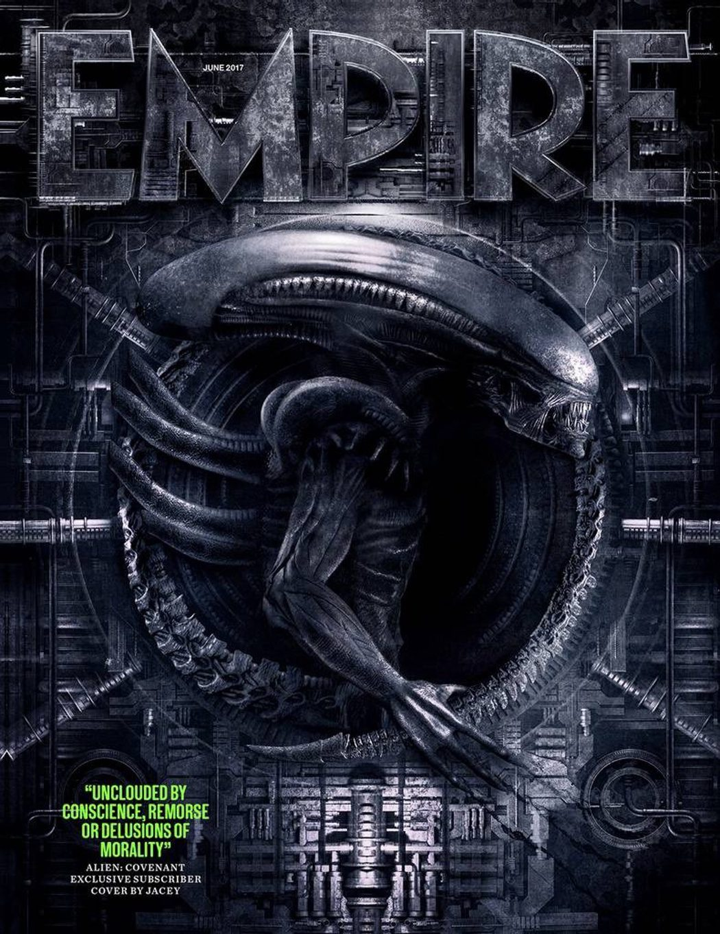Espectacular diseño del Xenomorfo para 'Alien: Covenant'
