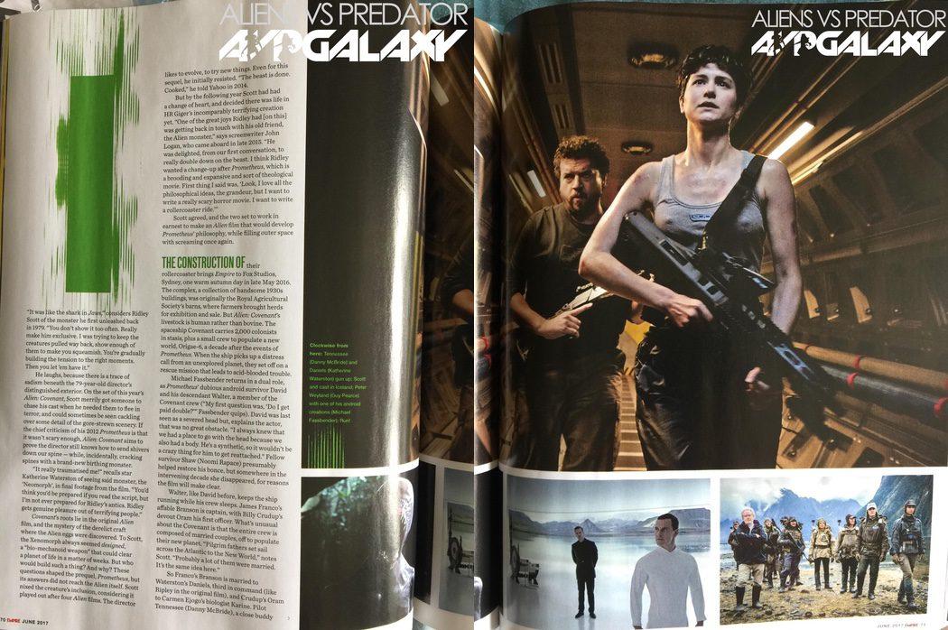 Katherine Waterson (Daniels) y Danny McBride (Tennessee) se incorporan a Michael Fassbender en 'Alien: Covenant'