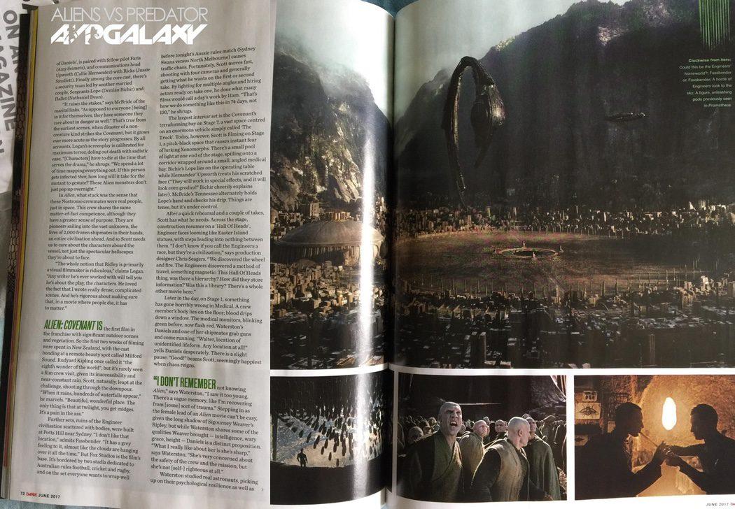 'Alien: Covenant' volverá al planeta de los Ingenieros