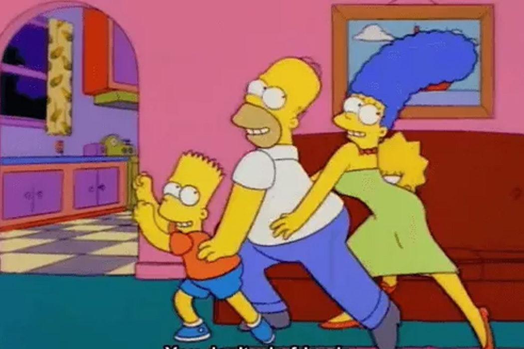 """""""¡No conquistas nada con una ensalada!"""" (Familia Simpson)"""