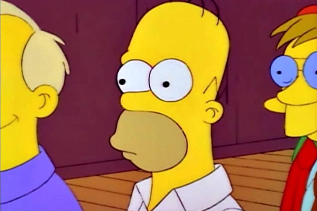 """""""¡Seguro dental! ? """"Lisa necesita un aparato"""" (pensamientos Homer Simpson)"""