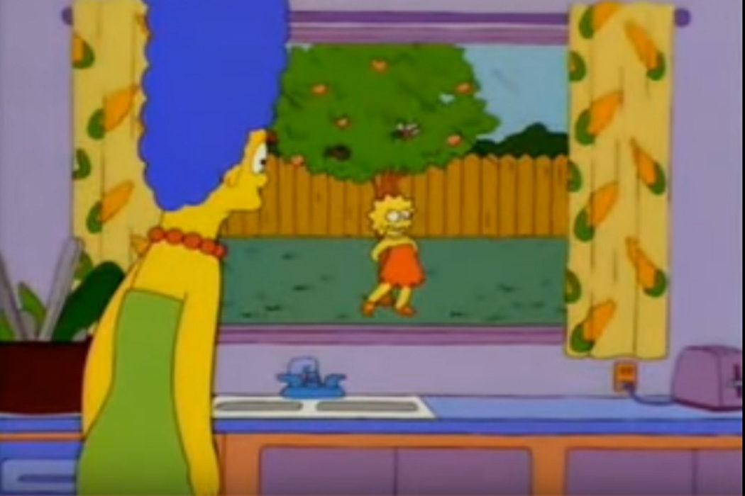 """""""Juego con mi melocotonero"""" (Lisa Simpson)"""