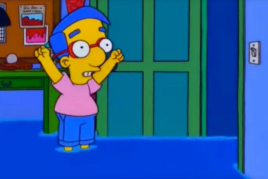 """Todo ha salido a pedir de Milhouse"" (Milhouse)"