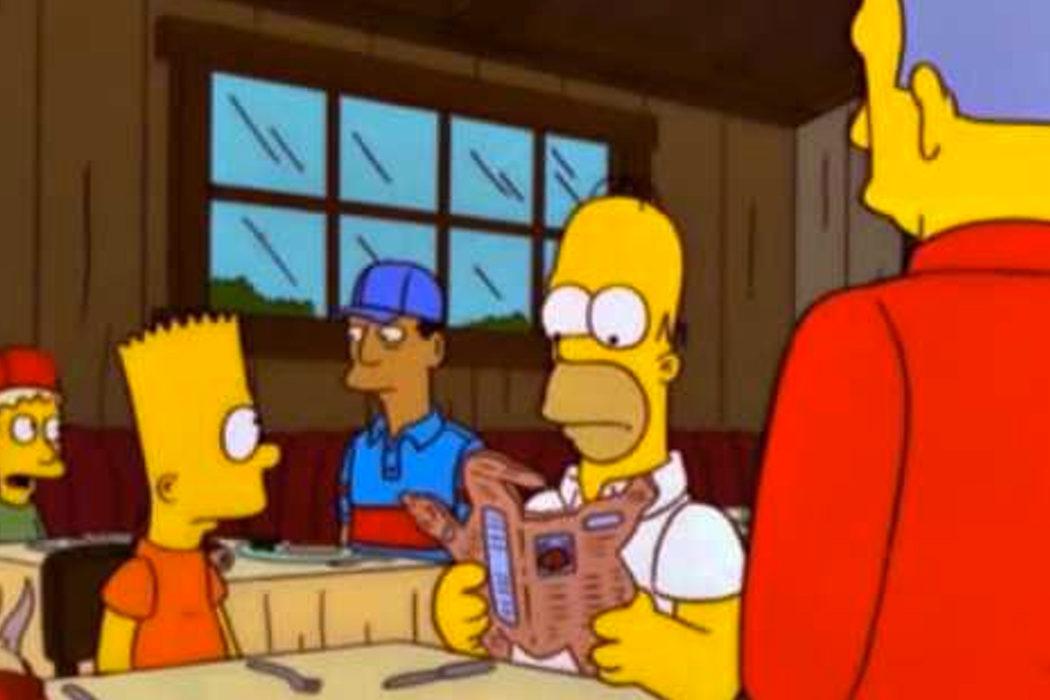"""""""Y de beber, albóndigas"""" (Homer)"""