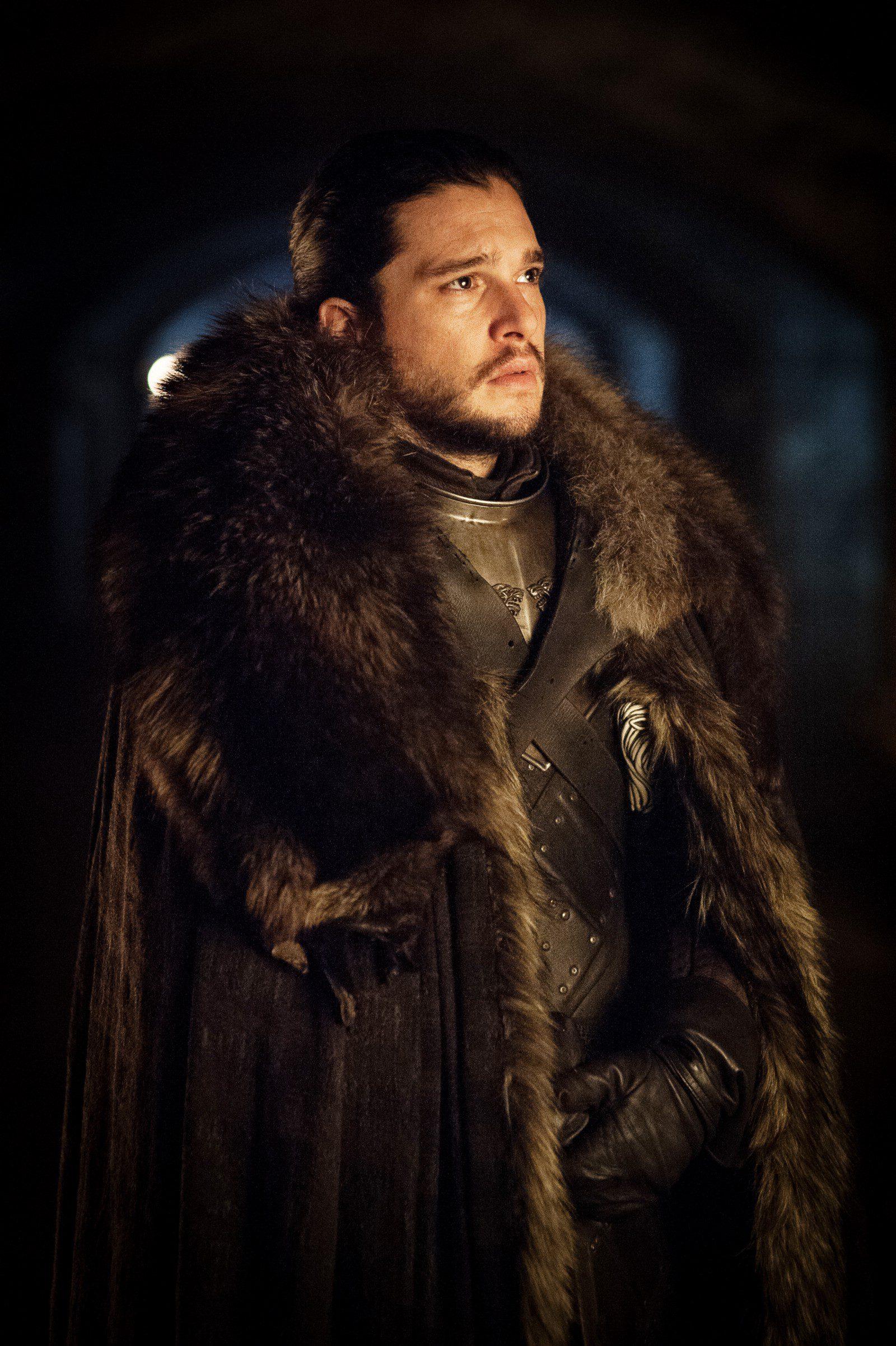 Jon Snow con cara de preocupación