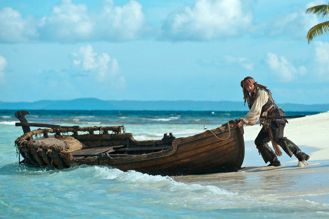 Jack Sparrow y las tortugas marinas