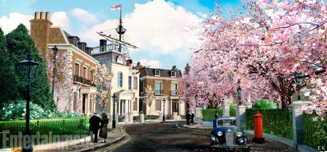 Concept Art de Cherry Tree Lane