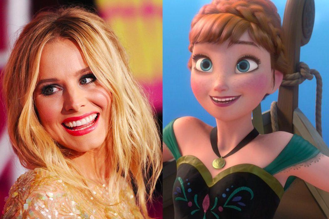 Kristen Bell es Anna en 'Frozen'