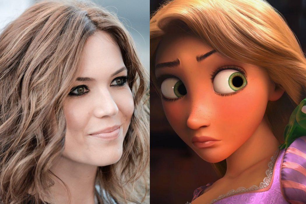 Mandy Moore es Rapunzel en 'Enredados'