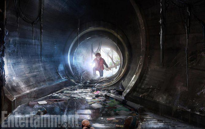 Boceto 'It': descenso a la guarida de Pennywise (2)