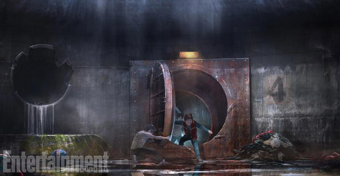 Boceto 'It': descenso a la guarida de Pennywise (3)