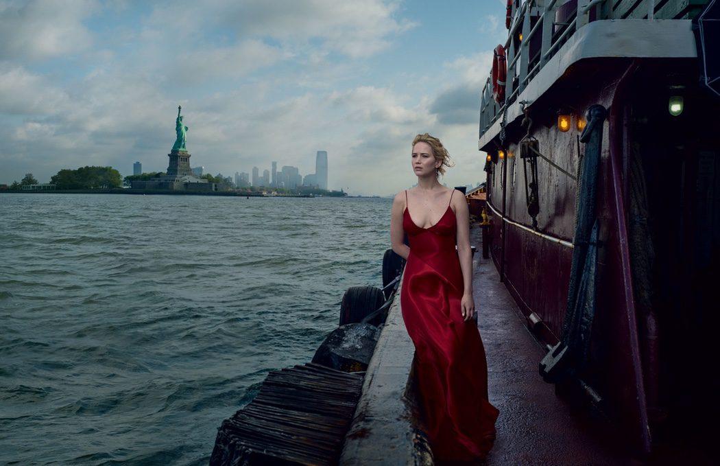 Jennifer Lawrence para Vogue