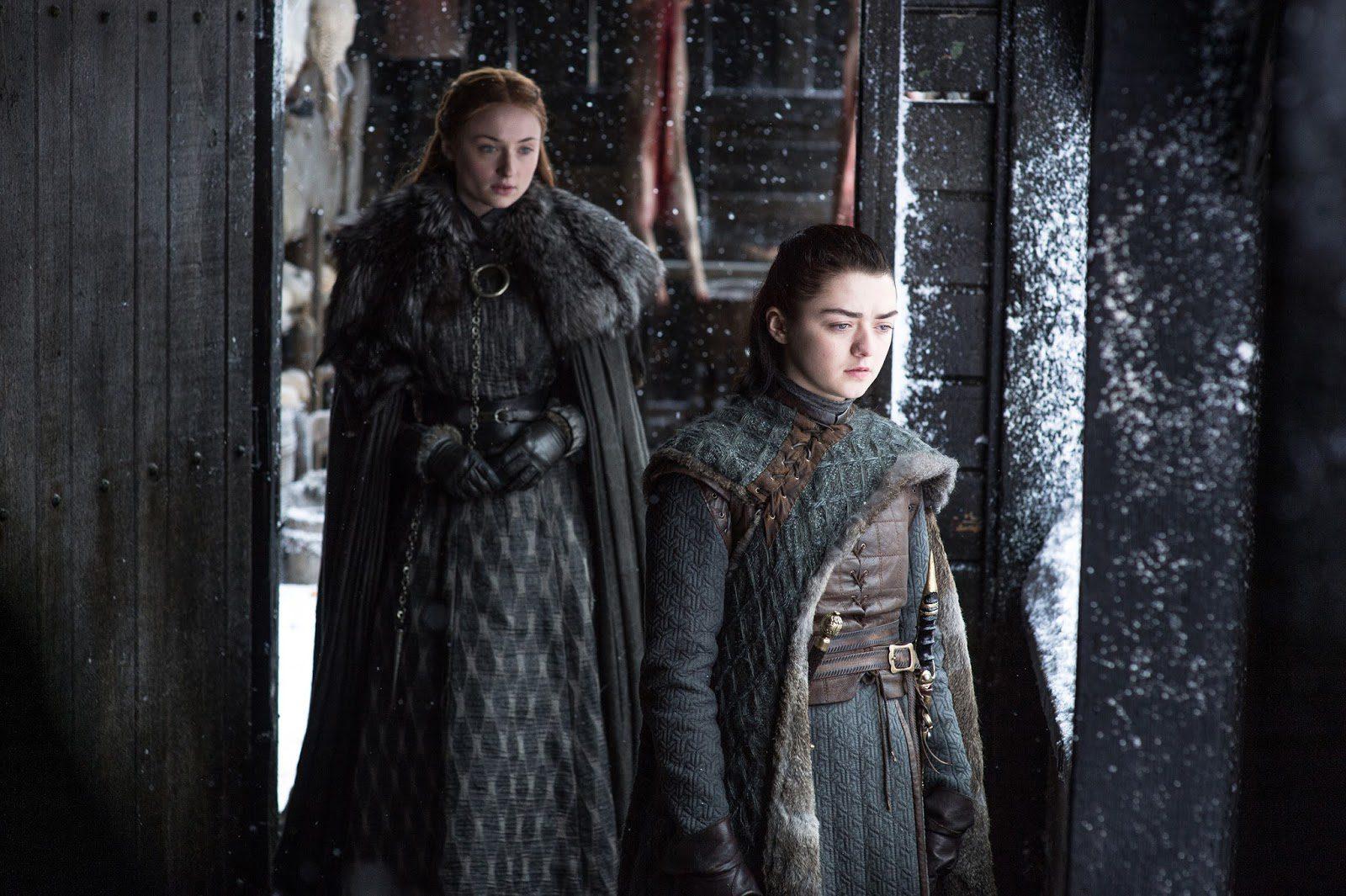 Arya y Sansa