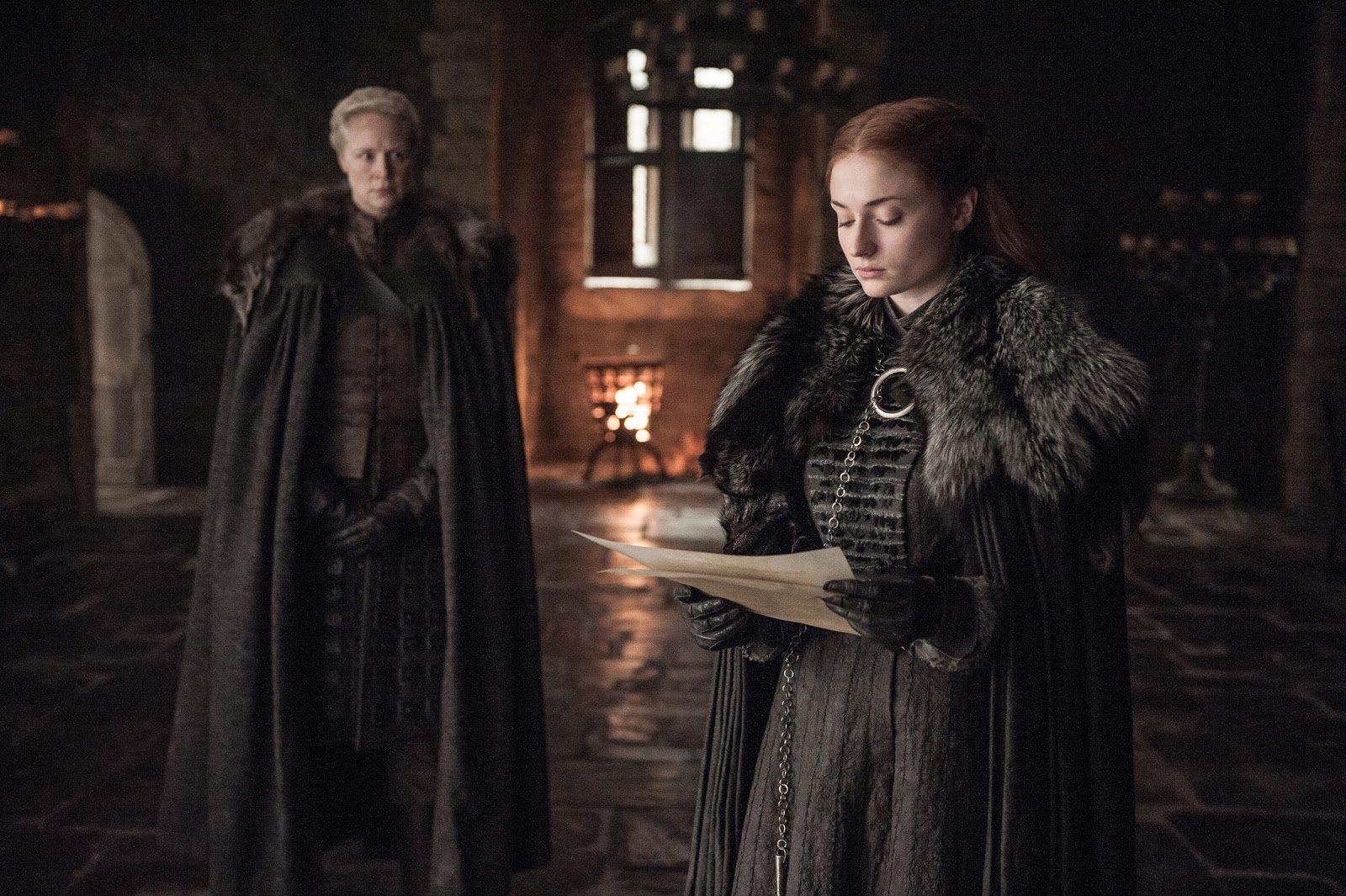 Sansa Stark y Brienne de Tarth