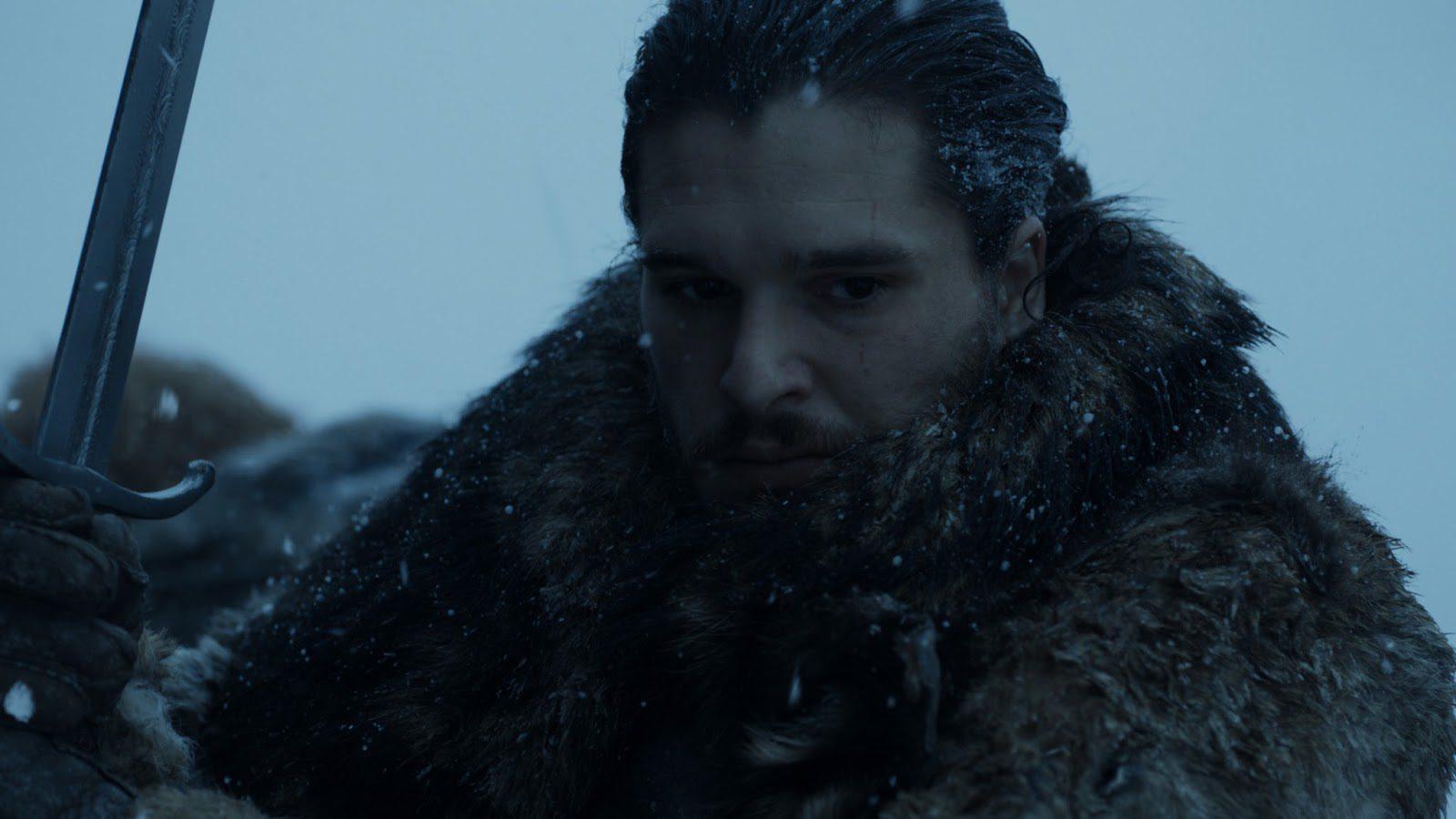 Jon luchando más allá del Muro