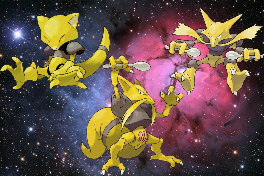 """Pokémon """"magos"""""""