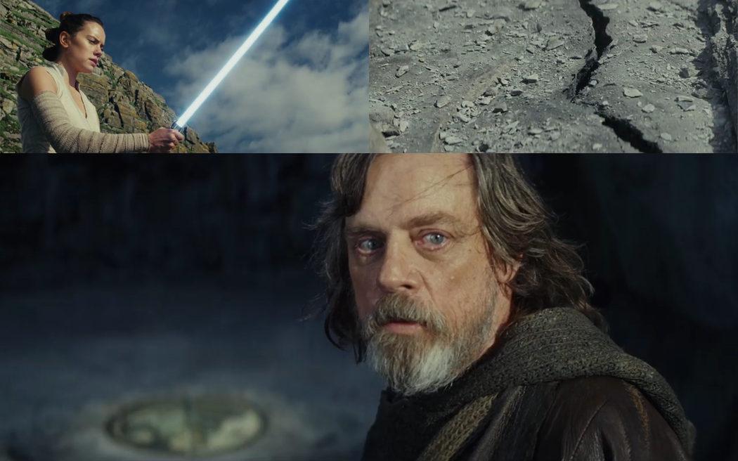El poder de Rey asusta a Luke