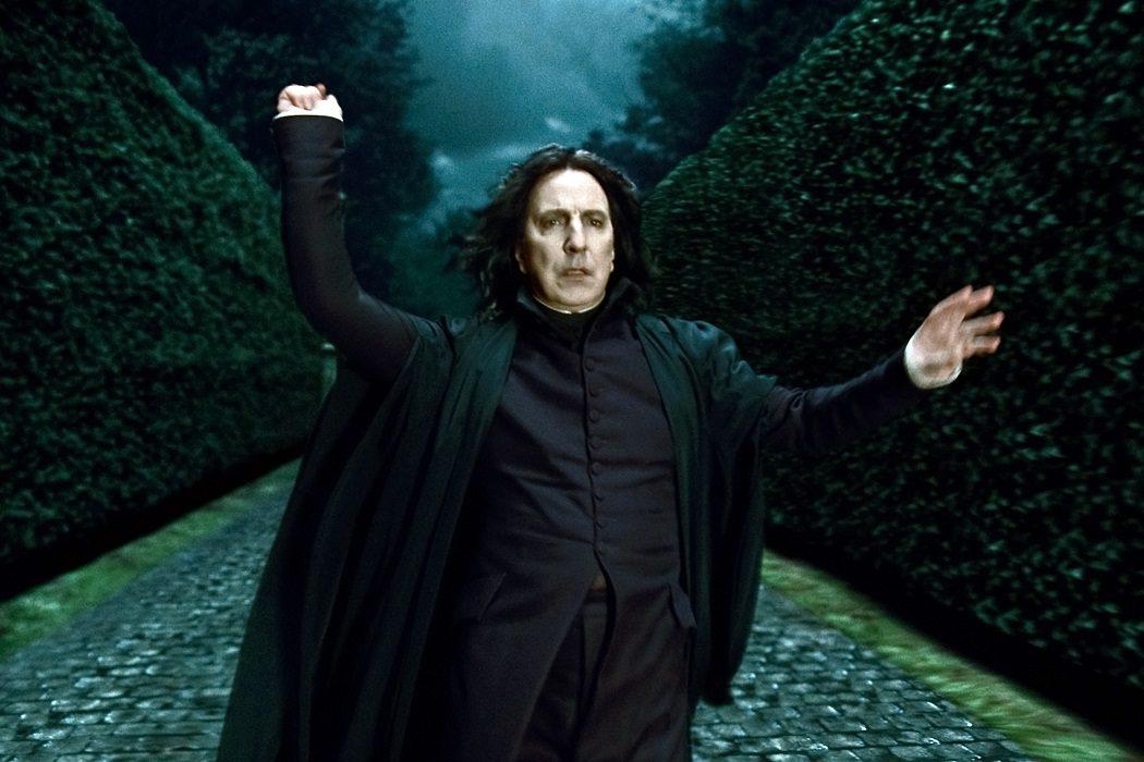 Snape es un vampiro