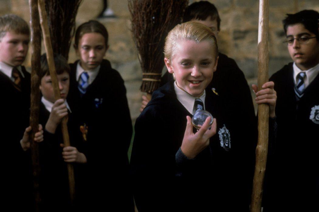 Draco es bueno, pero en secreto