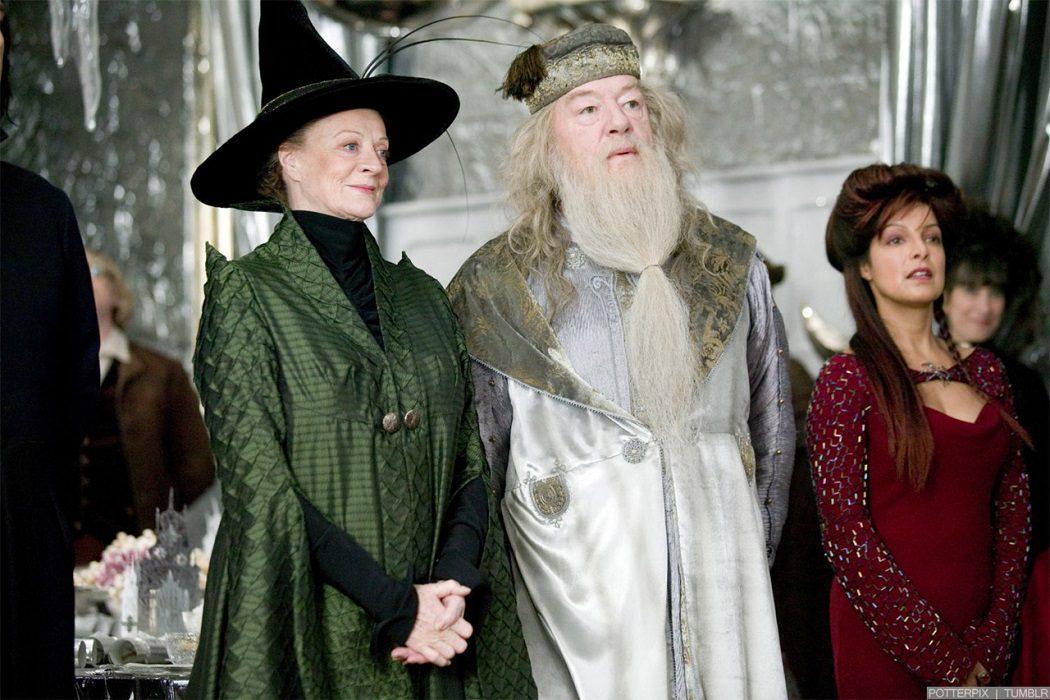 Dumbledore y McGonagall están enamorados
