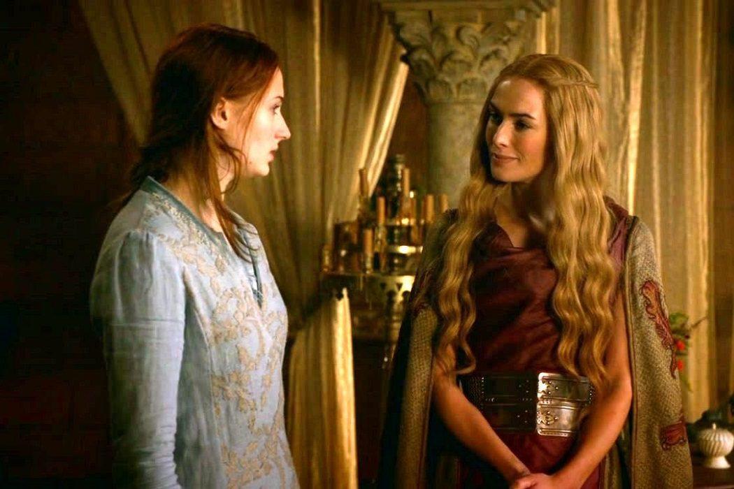 Sansa y Cersei