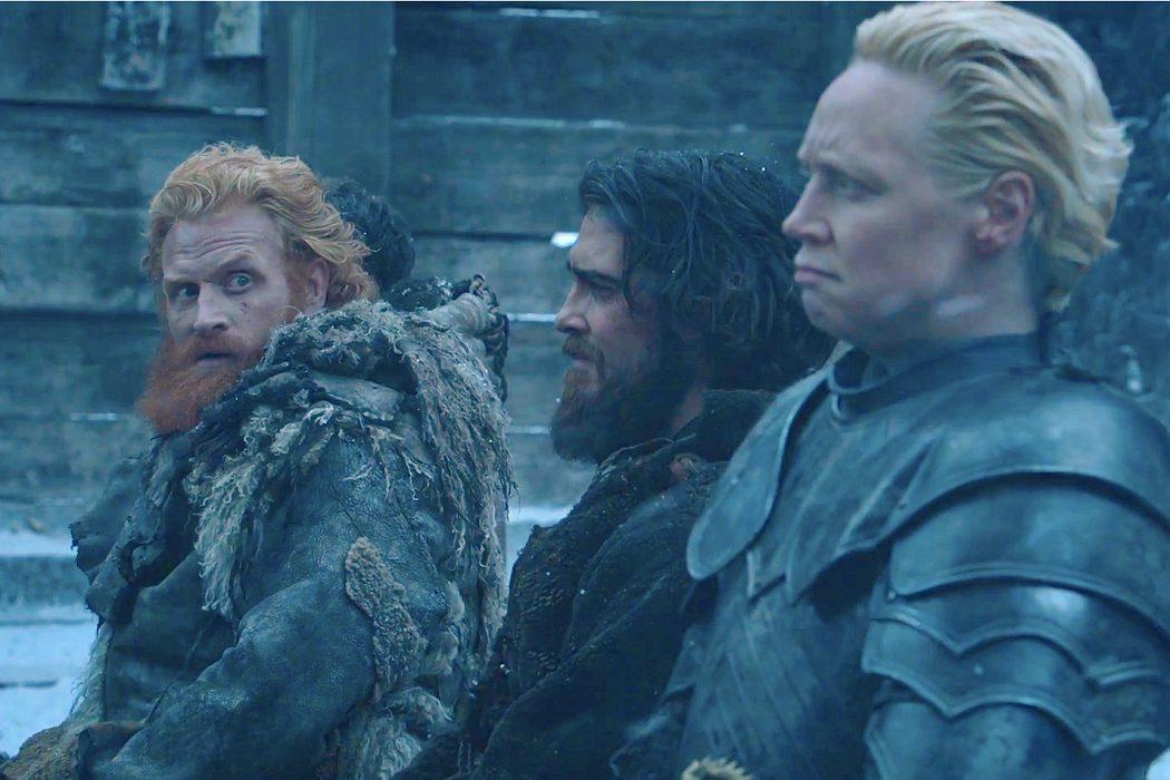 Tormund y Brienne de Tarth