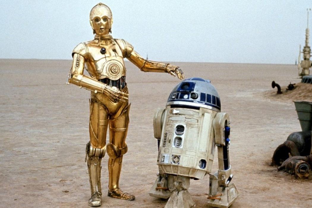El origen de los pitidos de R2-D2
