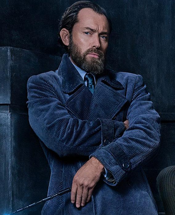 Jude Law como Albus Dumbledore