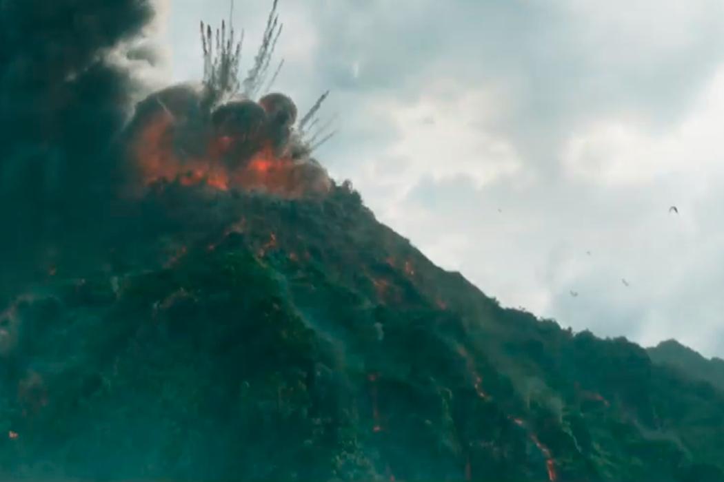 No tenemos un meteorito, pero tenemos un volcán