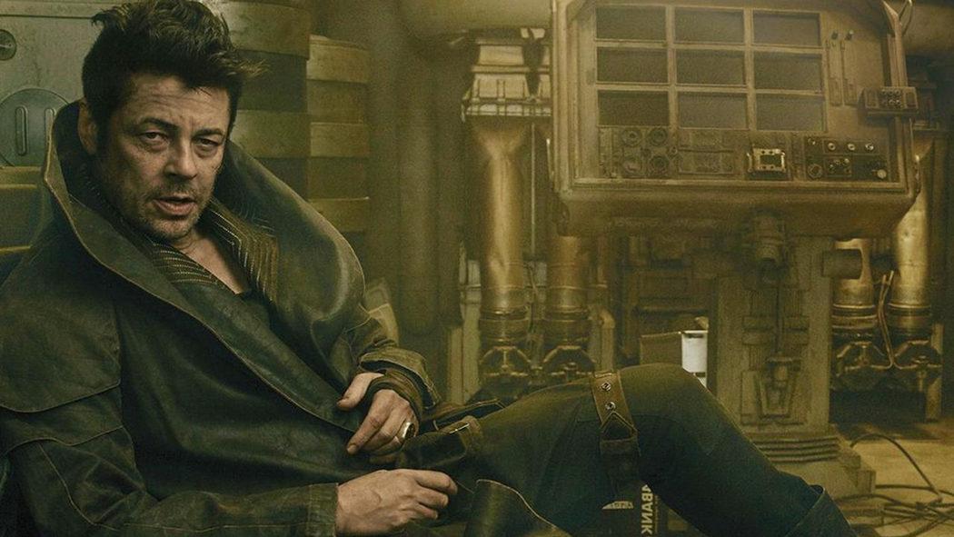 El personaje de Benicio del Toro