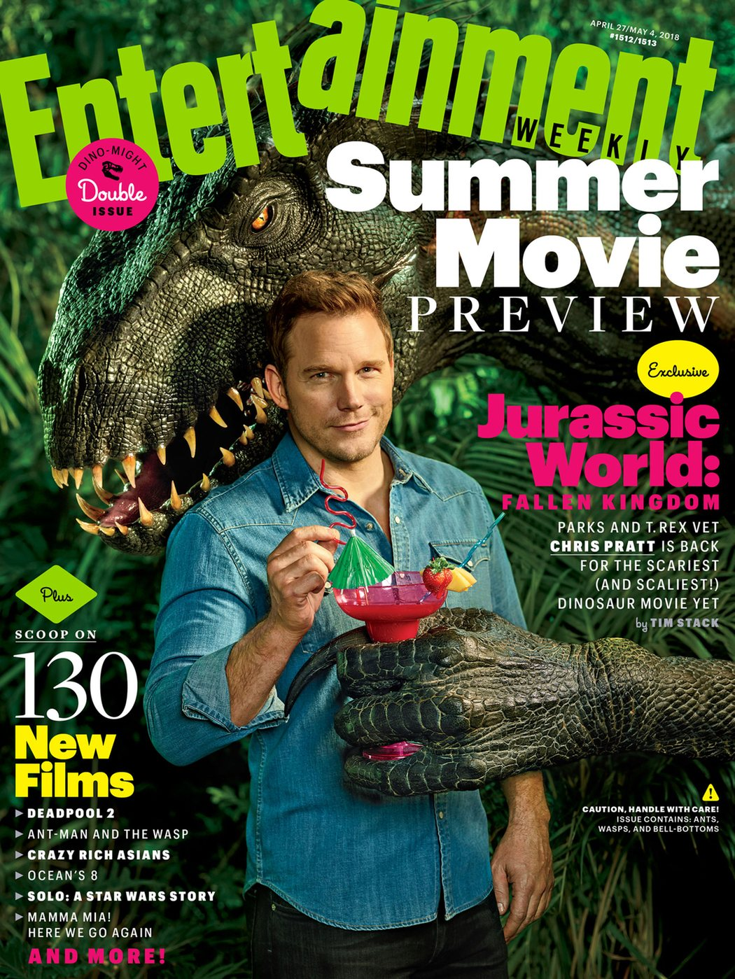 'Jurassic World: El reino caído' para Entertainment Weekly